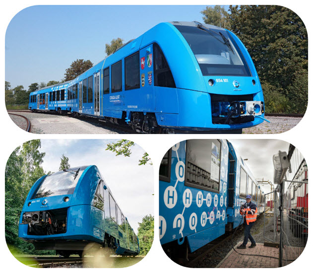 Alstom Fuel Cell Train OrderTW