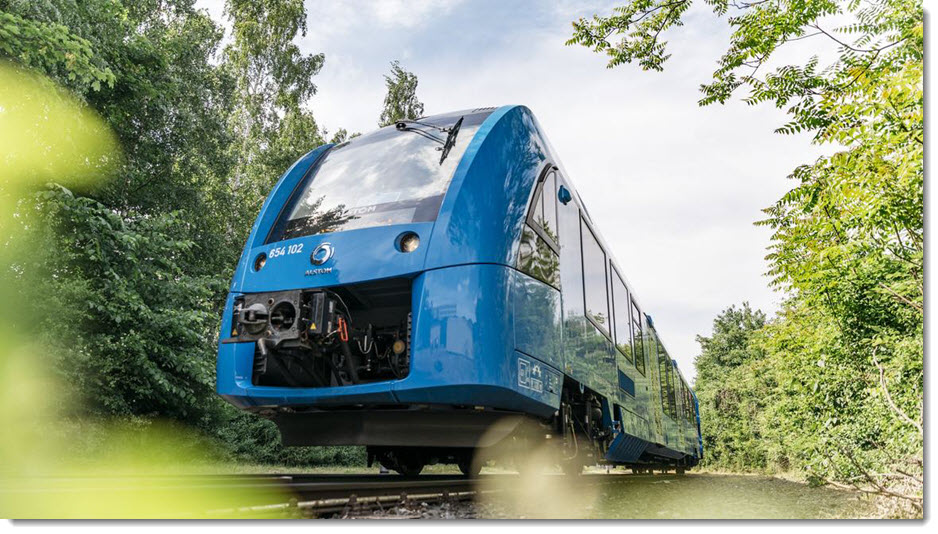 Alstom fuel cell train 2