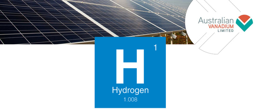 Australian Vanadium Launches Green Hydrogen Strategy for a Sustainable Future