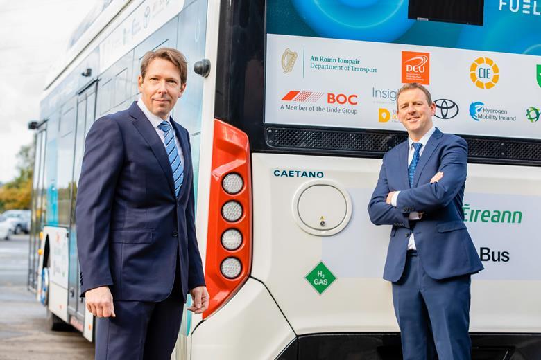 BOC Fuels Irelands First Hydrogen Bus