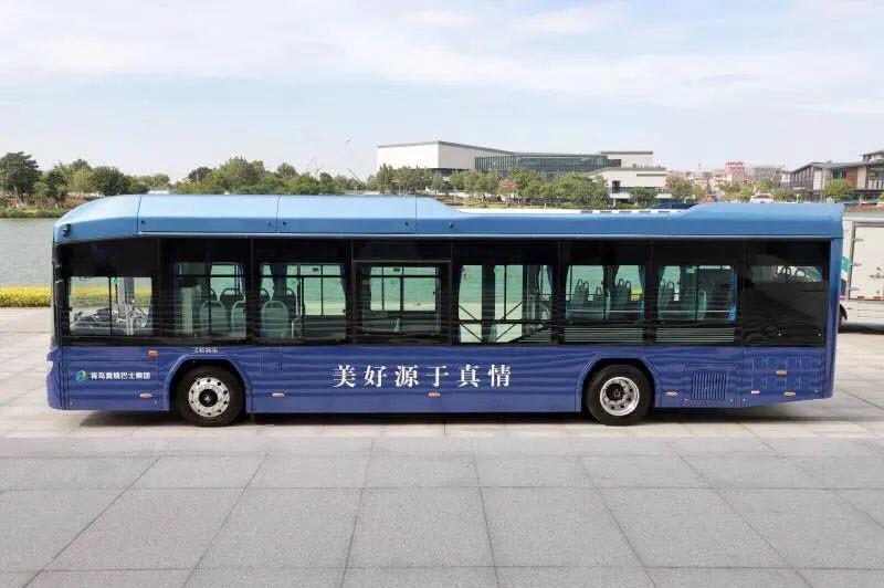 Behind the 50 hydrogen buses of Qingdao Meijin in Shandong