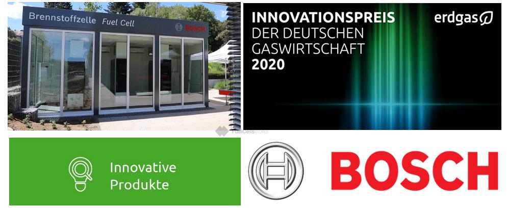 Bosch Fuel Cell Wins Award