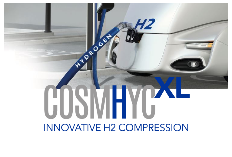 COSMHYC Project Begins Long Term Testing of its Innovative Hydrogen Compression Solution
