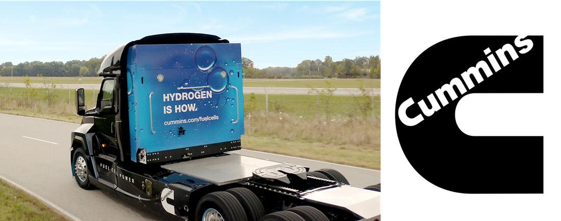 Cummins Hydrogen Fuel Cell Truck web banner