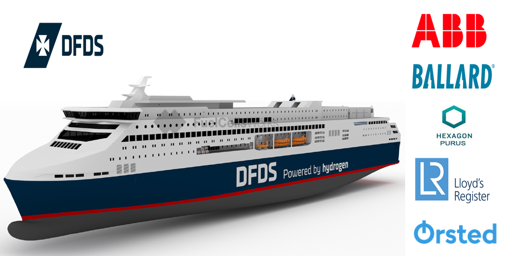 DFDS and Partners Aim to Develop Hydrogen Ferry for Oslo Copenhagen