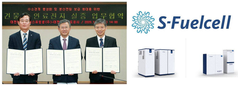 Daejeon City S Fuel Cell Co. Ltd. Sign Development Agreement on 25kW Fuel Cells for Buildings