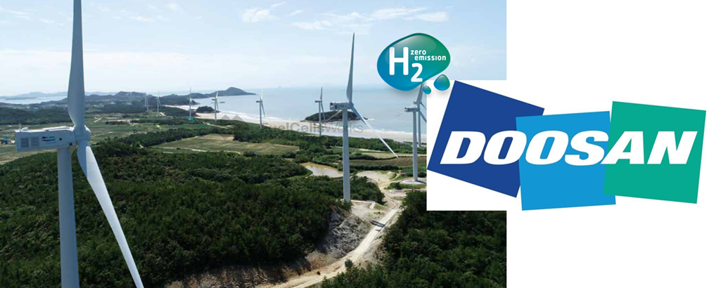 Doosan Heavy Industries Construction to Produce Green Hydrogen via Jeju Wind
