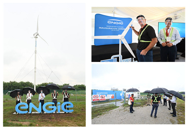 ENGIE Inaugurates Green Site Microgrid that Includes Hydrogen Fuel Cells