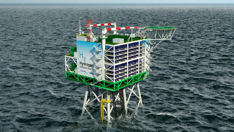 Enterprize Energy Tractebel to Build Offshore Wind Hydrogen Ammonia Platform Prototype