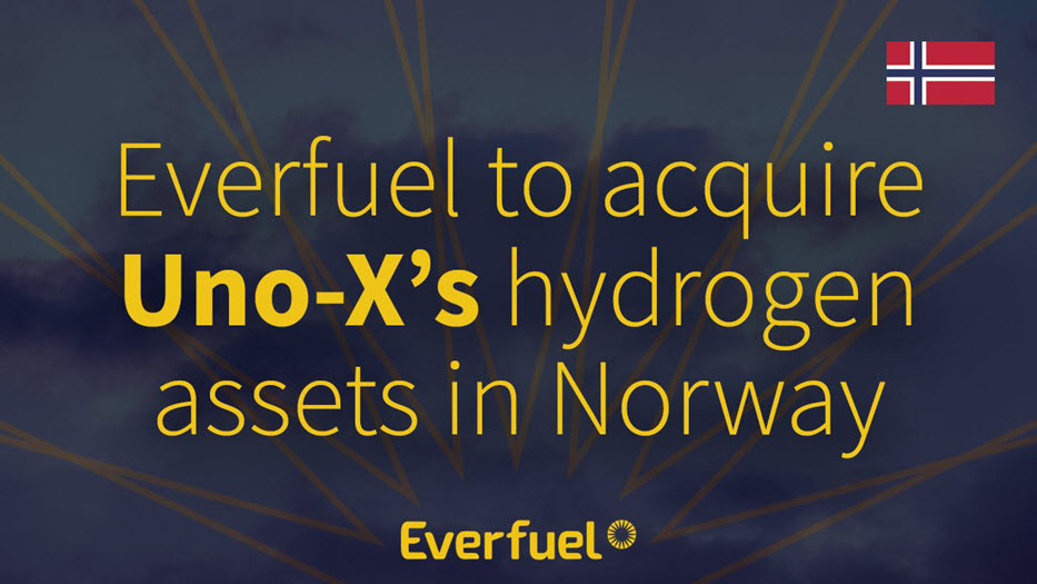 Everfuel Acquire Hydrogen Stations in Norway