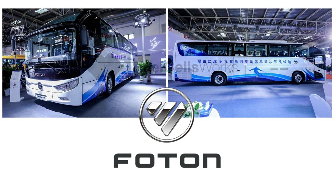 Foton Releases First 70MPa Hydrogen Fuel Cell Bus in China 2