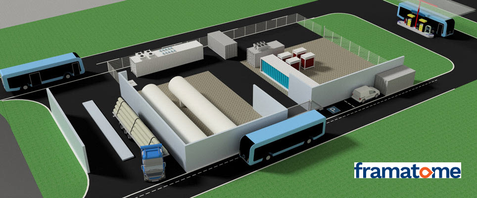 Framatomes Covalion to design and build hydrogen refueling station for moBiel