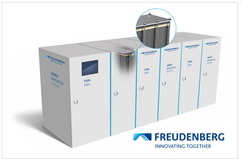 Freudenberg Safety Concept for Maritime Fuel Cell System Receives Certification