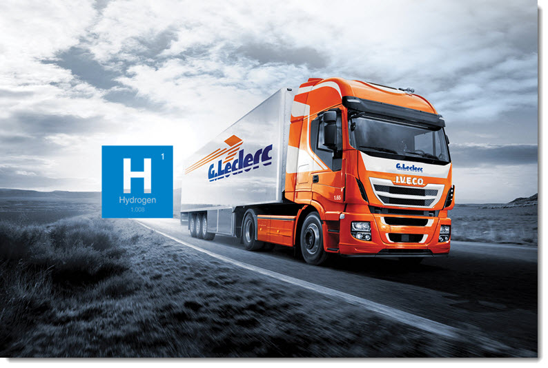 G. Leclerc Relies on Emission Free Transport with the New Hydrogen Truck
