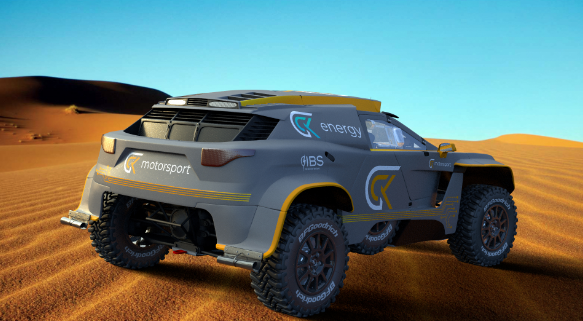 GCK Motorsport Launches Hydrogen Powered Vision for Future Cross Country Rallying Announce the GCK E Blast 1 Dakar Vehicle 2