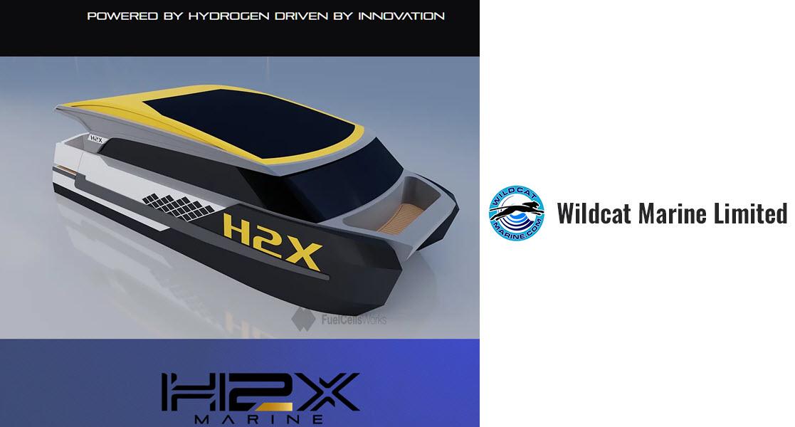 H2X Hydrogen Partners with Wildcat Marine to Build Hydrogen Ferries in Brisbane Australia