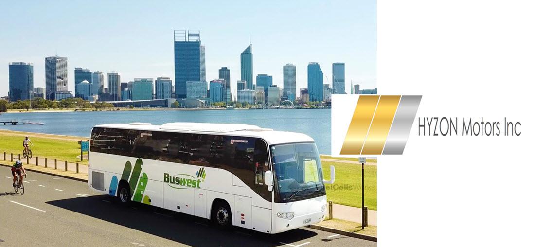 HYZON WarpForge SuperBus to hit Australian roads through Australian Transit Group