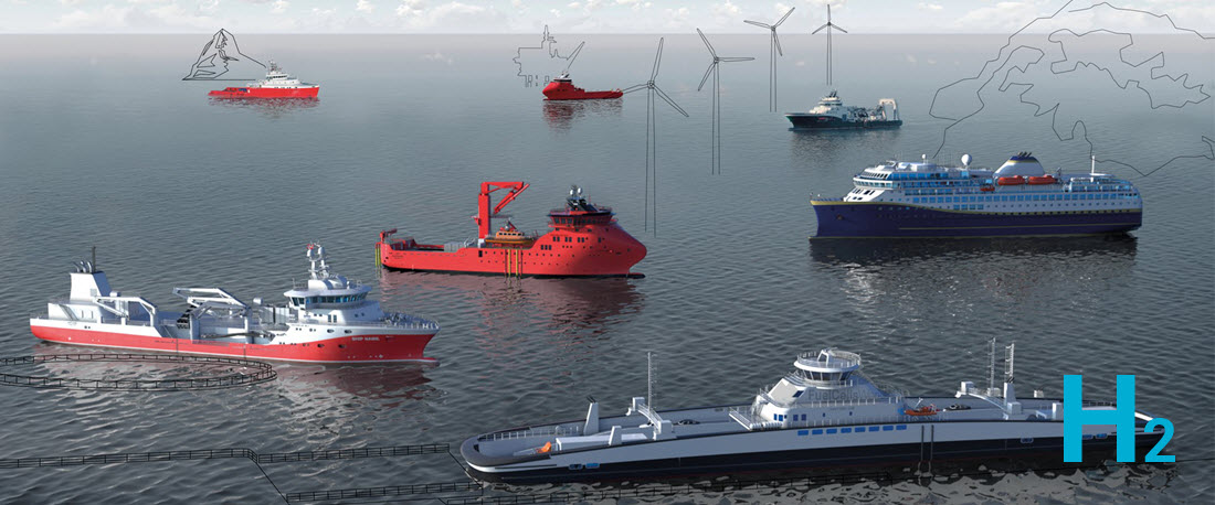 Havyard Group Forms Company to Work on Hydrogen Propulsion for Ships