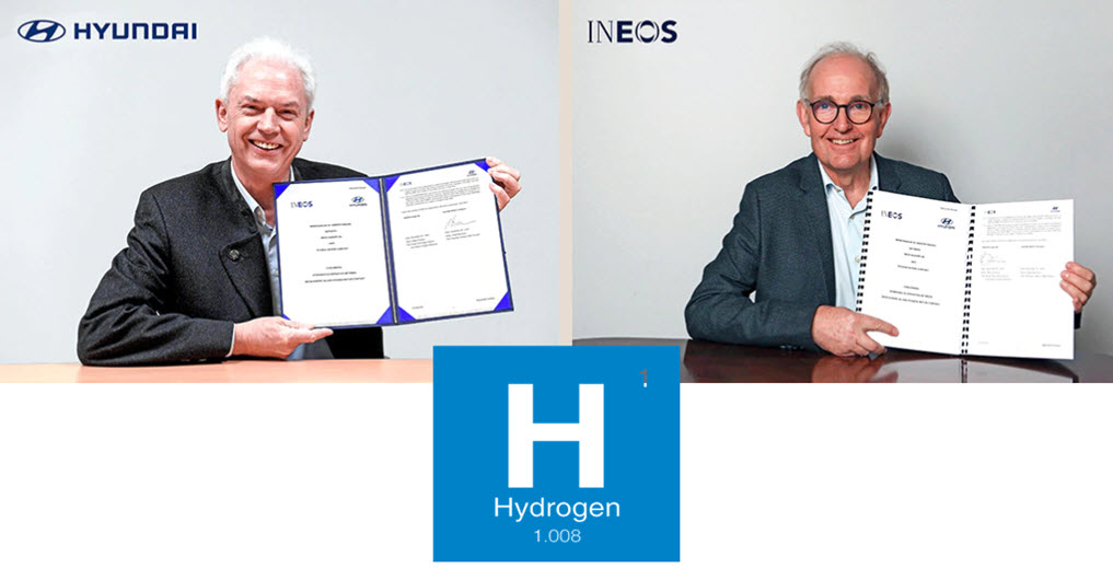 INEOS and Hyundai Motor Company Cooperate on Driving the Hydrogen Economy Forward