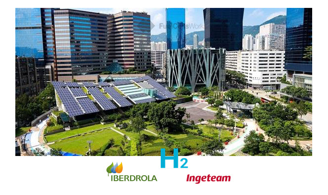 Iberdrola and Ingeteam have created Iberlyzer a Company Dedicated to the Electrolyser Plants