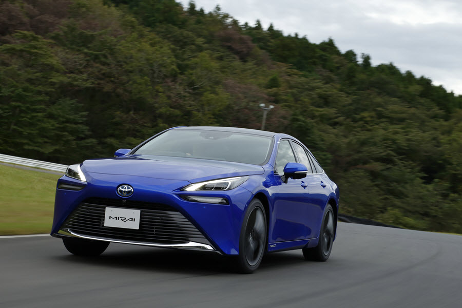 Introducing the All New Toyota Mirai Toyota Targets a 10 Fold Increase in Global Mirai Sales