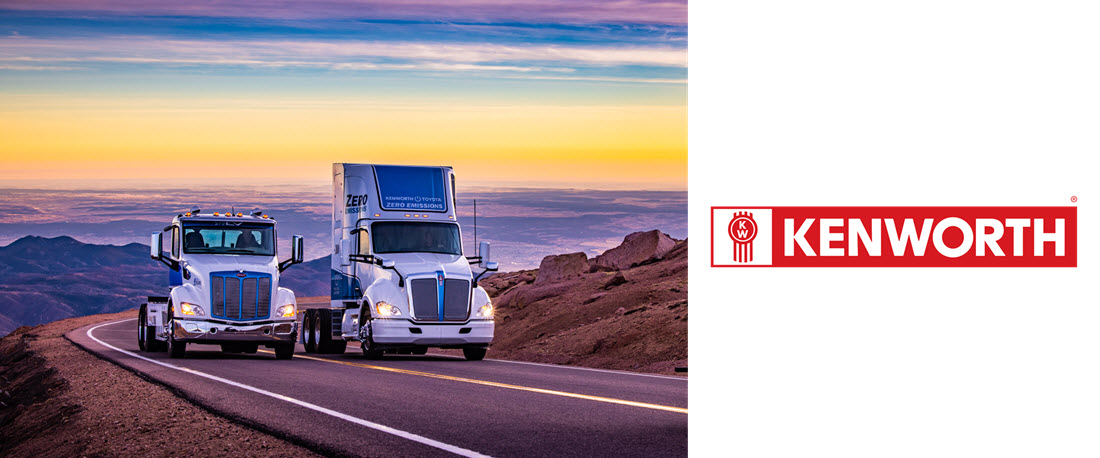 Kenworth and Peterbilt Zero Emissions Trucks Summit 14115 Foot Pikes Peak First Class 8 Electric Vehicles to Achieve Landmark Milestone