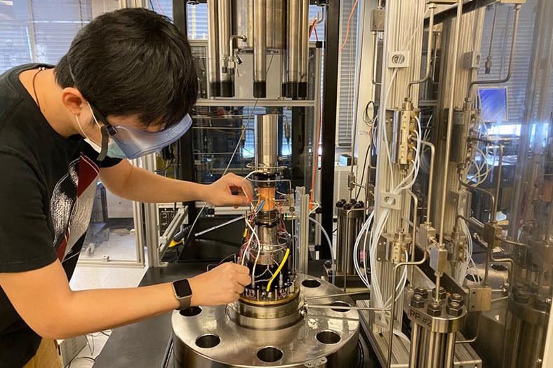 MITEI CCUS Tiange Xing Pec lab 0