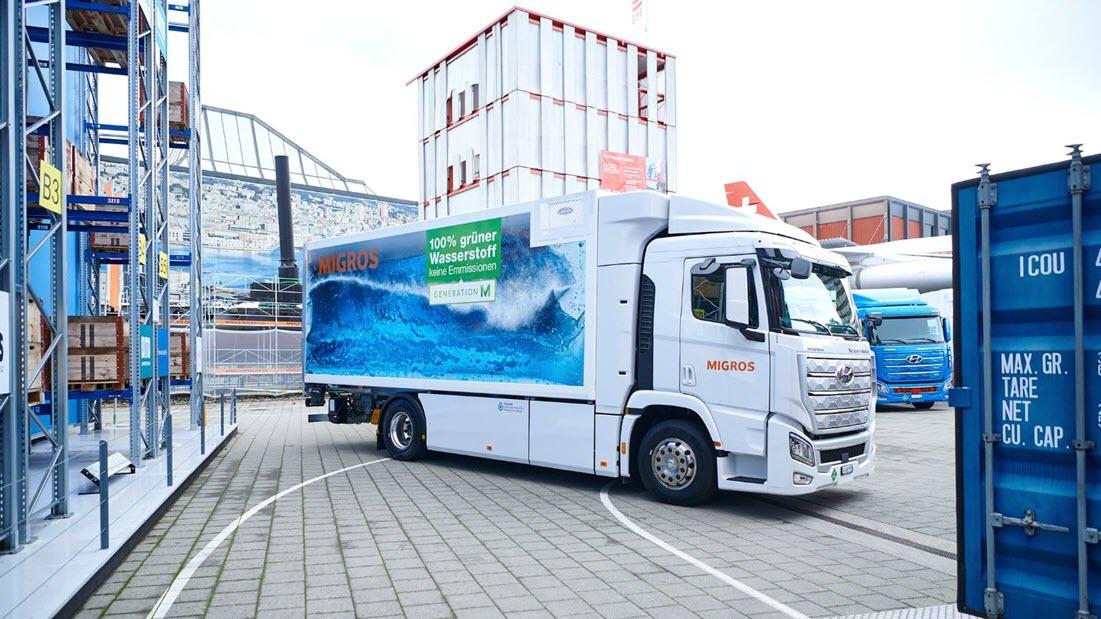 Migros Hydrogen Truck