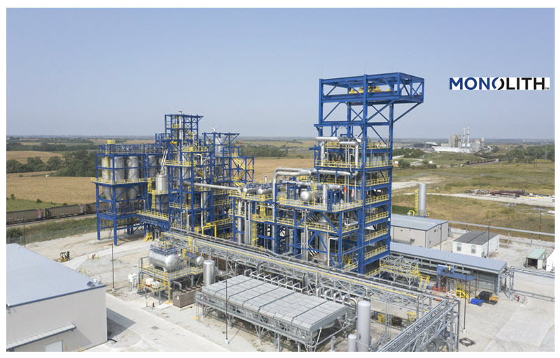 Monolith Materials Receives Investment from Mitsubishi Heavy Industries MHI to Support Clean Hydrogen Production Main