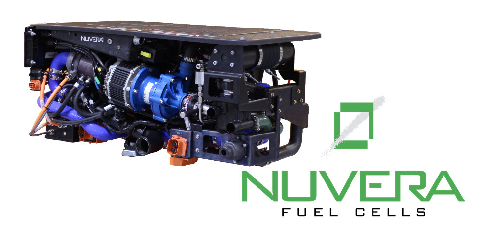 Nuvera Launches E 45 Fuel Cell Engine