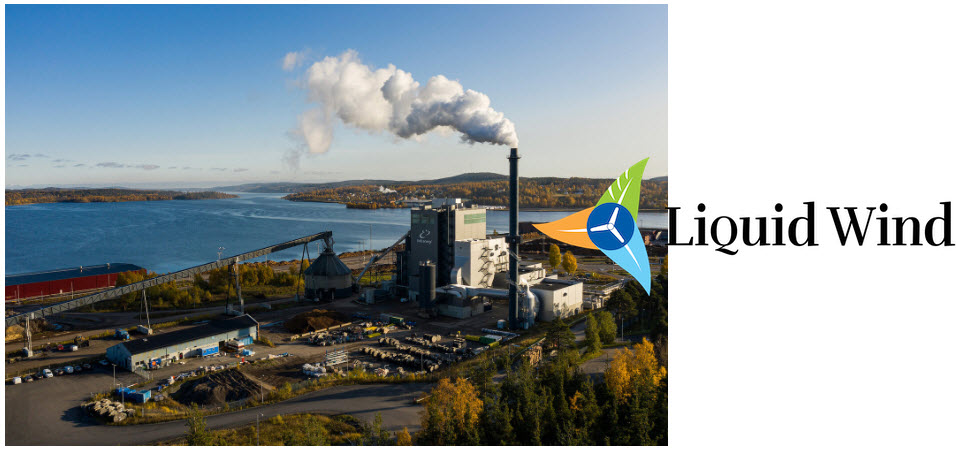 Ovik Energi Partners with Liquid Wind to provide CO2 for First Commercial Scale Electro Fuel Facility