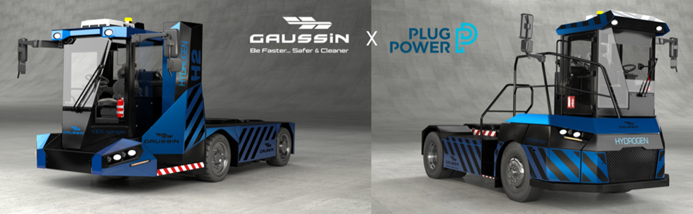 Plug Power and Gaussin Collaborate on Hydrogen Powered Transportation Vehicles