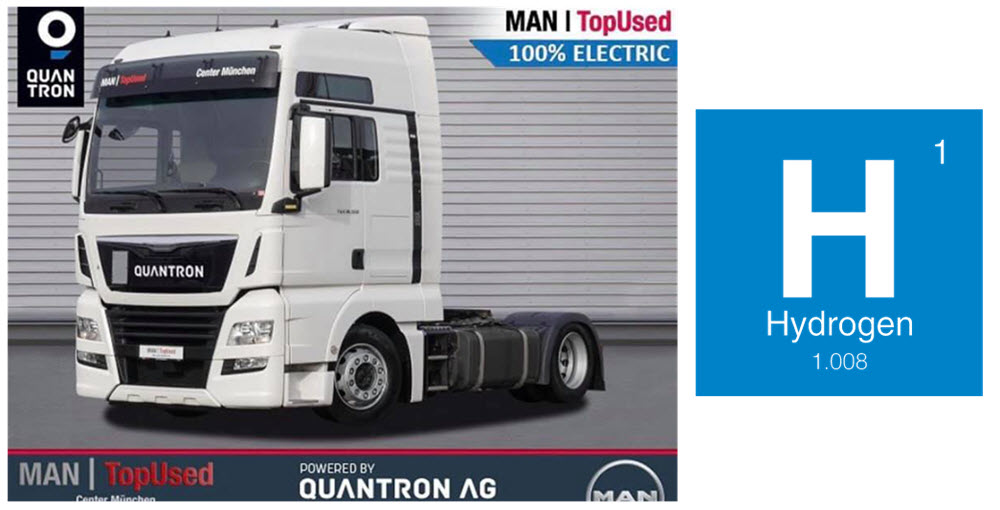 Quantron Converts MAN TopUsed Trucks to Fuel Cells