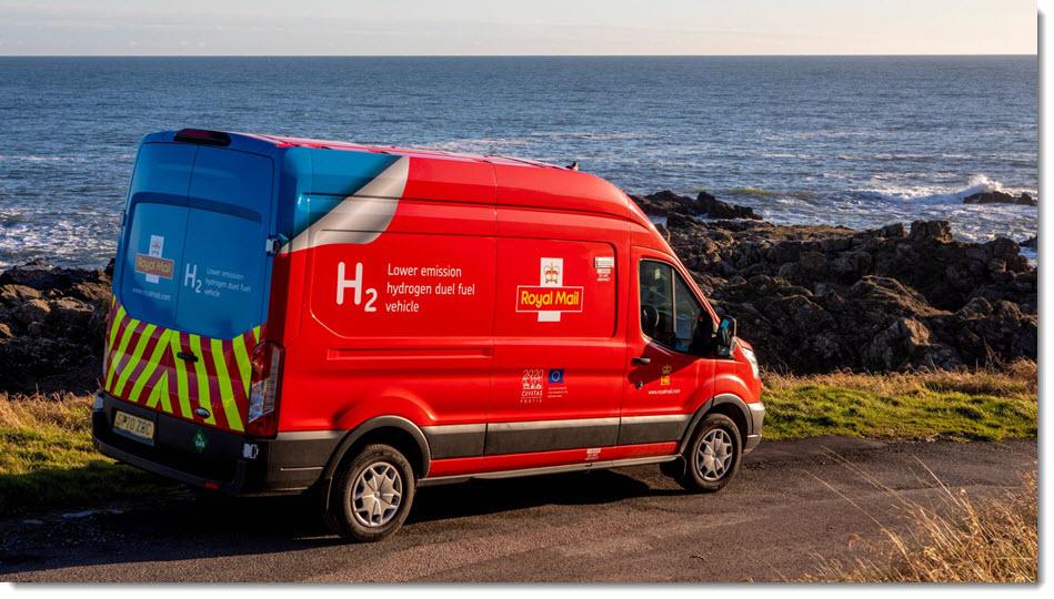 Royal Mail to Trial Hydrogen Dual Fuel Van