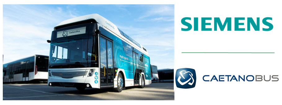Siemens Portugal and CaetanoBus Establish New Partnership for Electrification of the Transport Sector