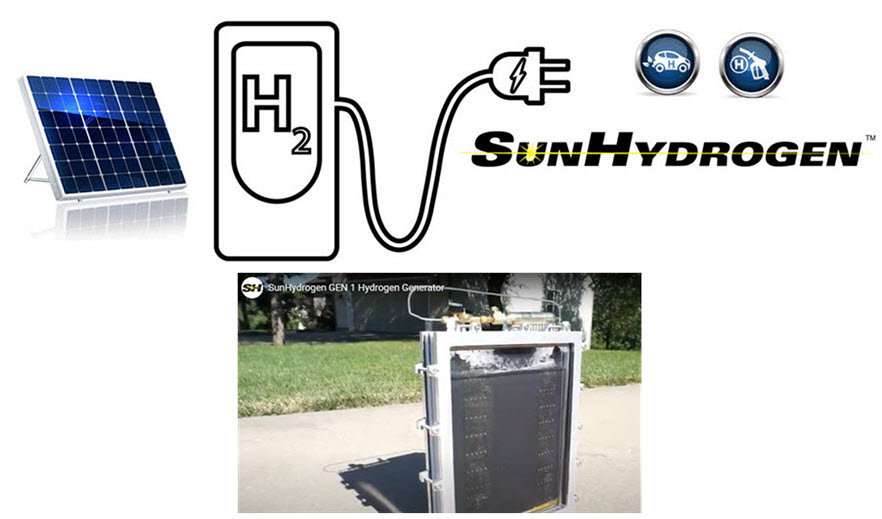 SunHydrogen Improves Hydrogen Production Device in Manufacturing Process