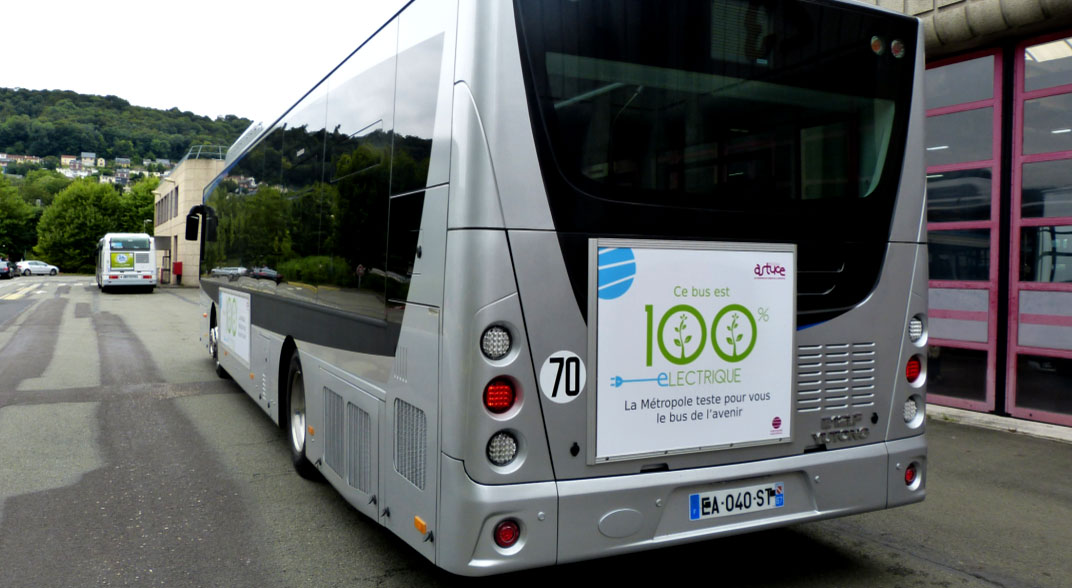 The Metropolis of Rouen to Purchase 11 Hydrogen Fuel Cell Buses