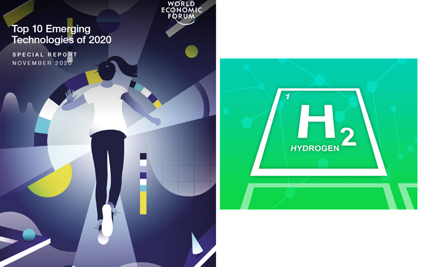 The World Economic Forum Names Green Hydrogen its Top 10 Emerging Technologies of 2020