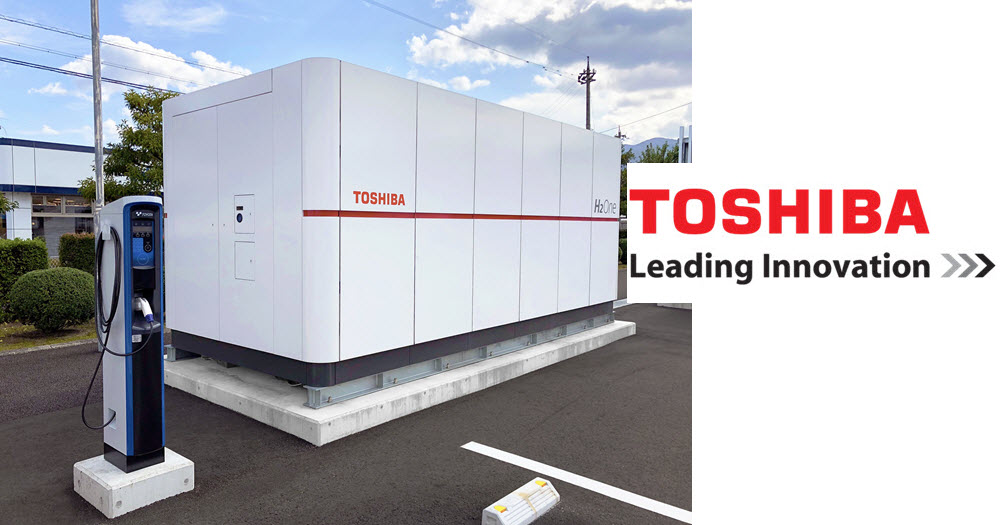 Toshiba The First H2One Multi Station Opens in Tsuruga City Fukui Prefecture 2