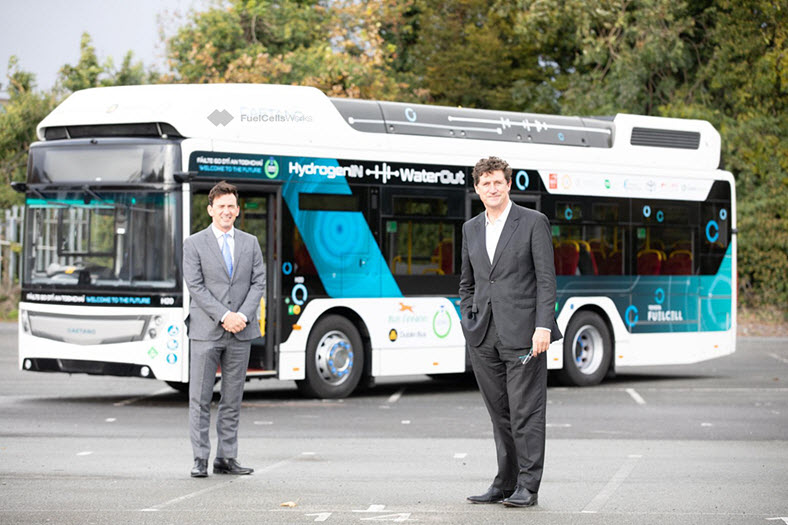 Toyota Hydrogen Fuel Cell Powered Bus Arrives in Ireland 2