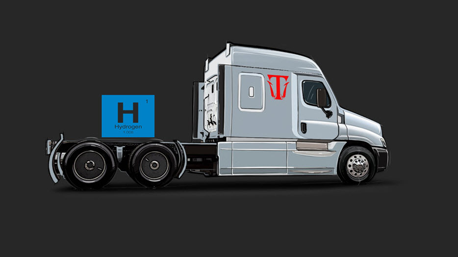 TritonEV Debuts Hydrogen Electric Truck