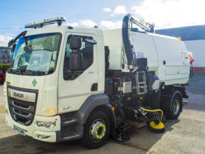 ULEMCo Collaborates with JCB and Bucher to Produce New Road Sweeper for Aberdeen City 2