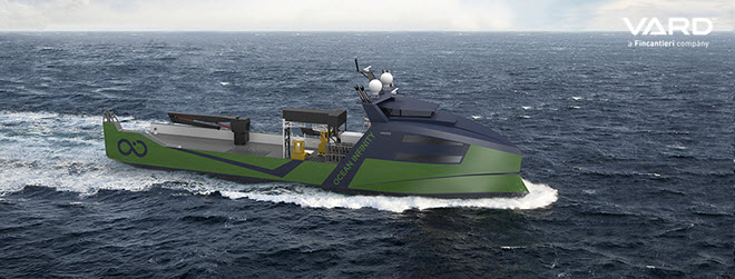 VARD Secures Contract for Design and Construction of Marine Robotic Vessels with Fuel Cells