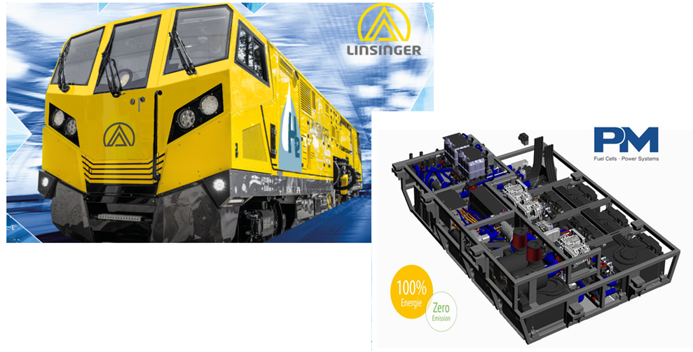 World Rail Innovation with Fuel Cell Drive from Proton Motor