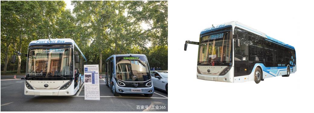 Yutongs self driving hydrogen fuel bus debuts in Zhengzhou