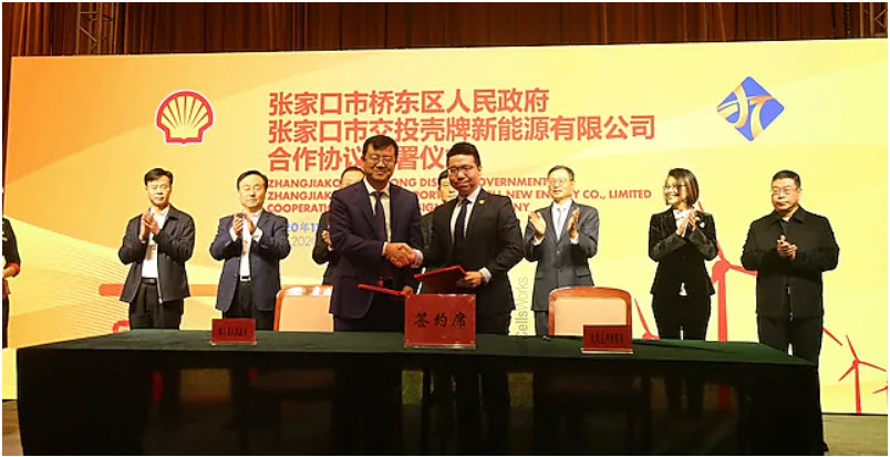 Zhangjiakou City Transport and Shell Form Joint Venture on Hydrogen