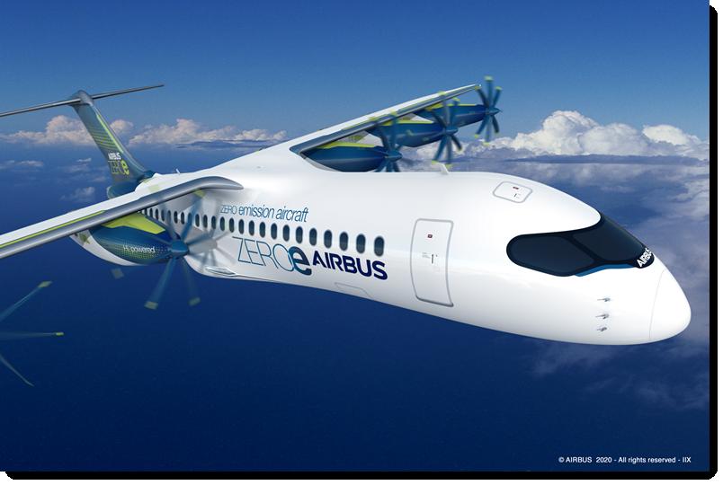 Airbus ZeroE 6pods 2