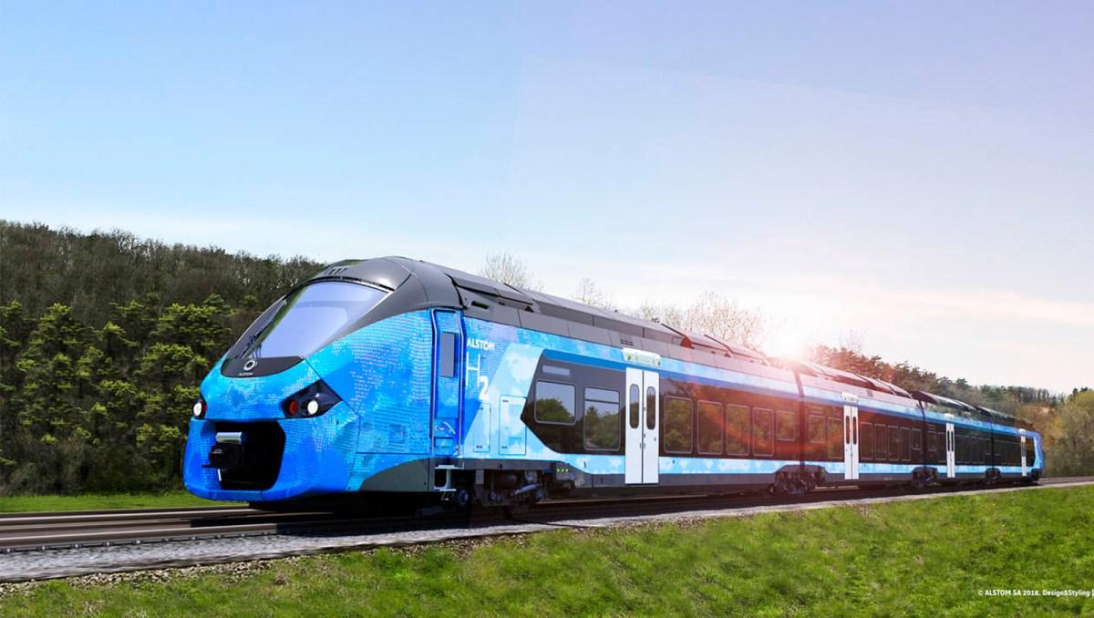 Alstom France Hydrogen TER