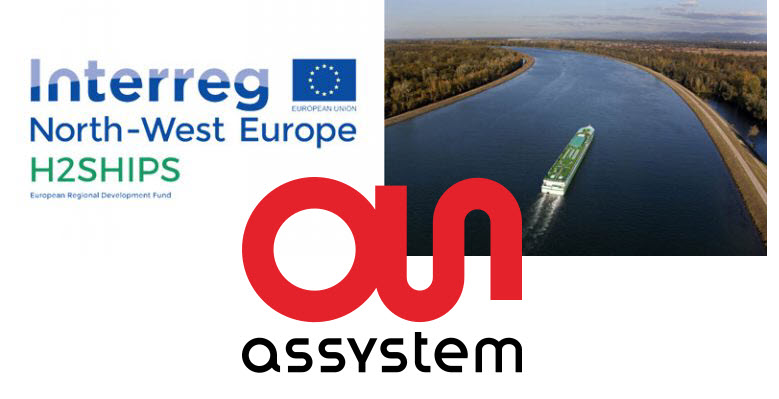 Antea Group Signs Contract with Haropa Ports of Paris to Develop Hydrogen in River Transport