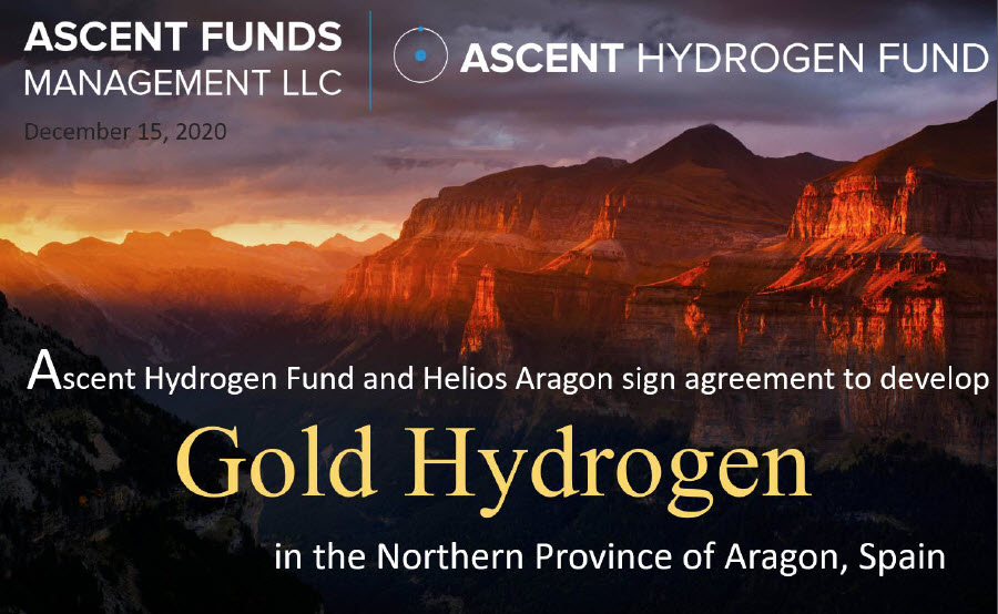 Ascent Hydrogen Fund Signs New Deal with Spains Helios Aragon Main